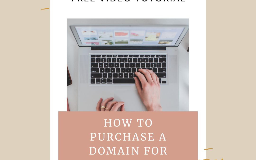 How to Purchase your Domain